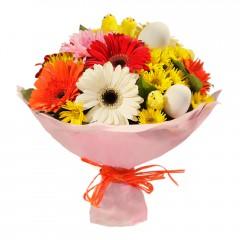 Karışık mevsim buketi Mevsimsel çiçek  Trabzon çiçek servisi , çiçekçi adresleri