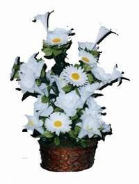 yapay karisik çiçek sepeti  Trabzon çiçek mağazası , çiçekçi adresleri
