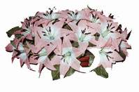 yapay karisik çiçek sepeti   Trabzon 14 şubat sevgililer günü çiçek