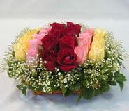 15 adet reprenkli gül sepeti   Trabzon çiçekçiler