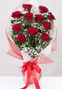 11 kırmızı gülden buket çiçeği  Trabzon çiçek yolla , çiçek gönder , çiçekçi