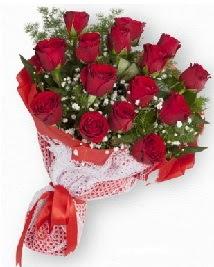11 kırmızı gülden buket  Trabzon çiçek , çiçekçi , çiçekçilik