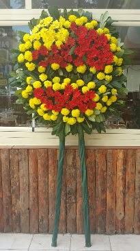 Cenaze çelengi çiçek modeli  Trabzon çiçekçi telefonları