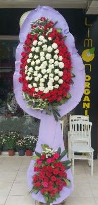 Çift katlı işyeri açılış çiçek modeli  Trabzon cicekciler , cicek siparisi