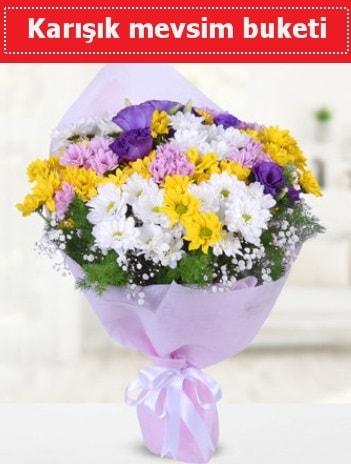 Karışık Kır Çiçeği Buketi  Trabzon çiçek , çiçekçi , çiçekçilik